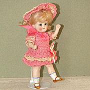 "5 1/2"" Limbach 'P610' All Bisque Doll ~ Cute and Childlike!"