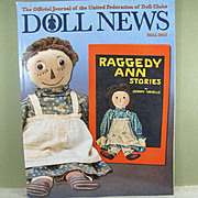 Doll News ~ Fall 2015 ~ Many Informative Articles!  Free shipping!
