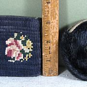 SALE 2 Small Grenfell Mission Coin Purses - Newfoundland and Labrador