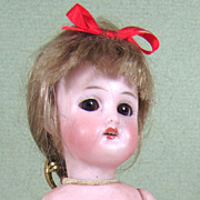 "REDUCED 6"" All Bisque Simon & Halbig 890 Girl ~ Sleep eyes, Fully Jointed"
