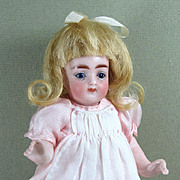 "SALE Lovely 6"" Kling All Bisque Doll in Excellent Condition"