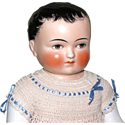 "Magnificent 16"" Frozen Charlie by Goebel ~ A Lovely China Boy with Fabulous Clothing"