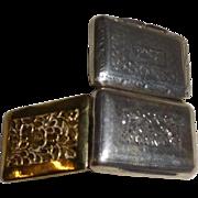 Georgian Sterling Silver Vinaigrette 1818