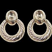 REDUCED Vintage 14k Gold Earring Jackets