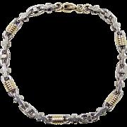 REDUCED Vintage 14k Gold Two-Tone Bracelet