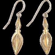 SALE Vintage 14k Gold Earrings