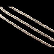 """SALE Vintage 10k Gold Link Anklet 9"""" ~ 0.9 Grams"""