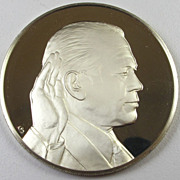 Vintage 1974 Sterling Silver Round Bullion - Gerald R. Ford
