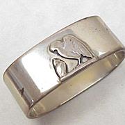 Danish Sterling Silver Napkin Ring 1938