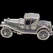 SOLD Vintage Sterling Silver Miniature 1912 Hispanosuiza Automobile