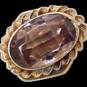 Cognac Sapphire 3.15 Carat SLIDE 14k Gold ~ Add a Slide Bracelet