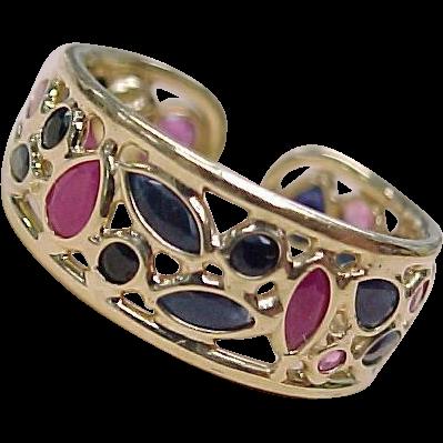 Item ID: KA Sapphire & Diamond Ring 2 In Shop Backroom