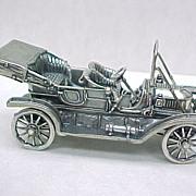 Vintage Sterling Silver Miniature 1911 Stanley Steamer Automobile