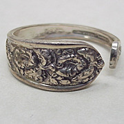Sterling Silver Napkin Ring By Stieff