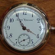 Antique Pocket Watch - Swiss 14k Gold - Lady Racine