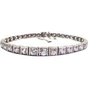 6.00 ctw Diamond & Platinum Art Deco Bracelet