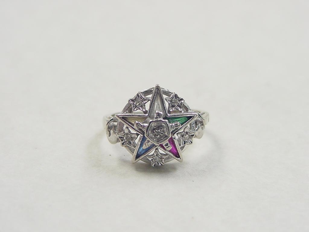 Vintage Eastern Star Rings 4