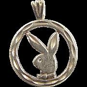 Vintage 14k Gold Playboy Bunny Charm