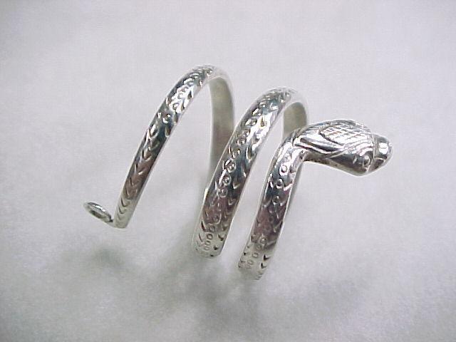 vintage sterling silver snake ring from arnoldjewelers on