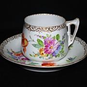 Franziska Hirsch Dresden cup and saucer
