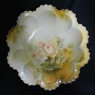RS Prussia-Germany bowl with roses