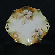 RS Prussia cake plate – mold 151 with roses