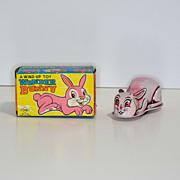 Yone Tin Windup Wonder Bunny with Box