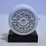 Tom Kuhn White 25th Anniversary No Jive 3 in 1 Yo-Yo Mint in Box