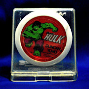 Duncan The Incredible Hulk Yo-Yo Mint in Box—most difficult to find version