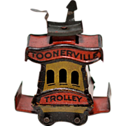 Fontaine Fox's Toonerville Trolley Penny Toy size