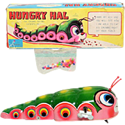 Haji Hungry Hal Caterpillar Windup with Box
