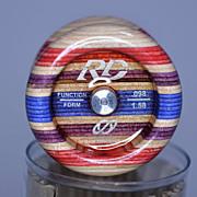 Tom Kuhn First Run  RD-1 Laminate Yo-Yo Mint in Original Container
