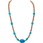 Sleeping Beauty Turquoise Necklace: Cirque de Turquoise