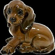Rosenthal  dachshund puppy dog figurine #1909