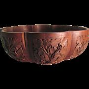 Kashmir Walnut Decorative Wood Bowl