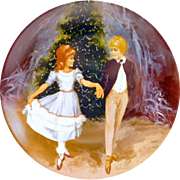 """Clara And The Prince"" Fine China Collector's Plate by Viletta 1980 Series"