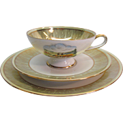 Trio Set Teacup, Saucer, and Dessert Plate by Rudolf Watcher
