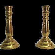 Miniature Dollhouse Brass Candlestick Holders