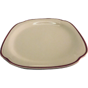 Large Syracuse China Plate Restaurant Ware