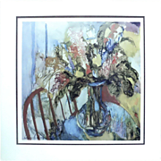Spring Bouquet  Print Signed and Numbered By Barbara A. Wood Limited Edition