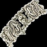 """SALE Vintage William Spratling Taxco """"980"""" Sterling Vindobonensis Bracelet"""