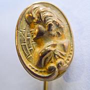 Stick Pin - Antique Gold Filled Art Nouveau - Circa 1900