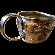 Antique Art Nouveau Silver Plated WMF Cup - Circa 1900