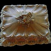 Magnificent Antique Art Nouveau - Large Victorian Jewelry Box - Circa 1910