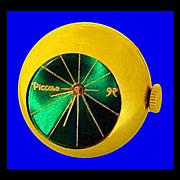 SALE PICCOLO Vintage Mid-Century Modern Space Age Ring Watch