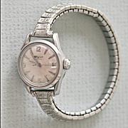 Wyler Incaflex Vintage Date Watch Ladies Expansion Band