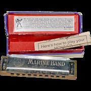 SALE Harmonica No. 1896 Marine Band M. Hohner Germany