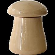 Cookie Jar Big Fat Tan Mushroom