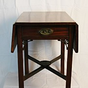SALE 18th Century Philadelphia Chippendale Mahogany Pembroke Table