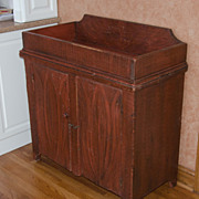 Paint Decorated 19th Century Dry Sink